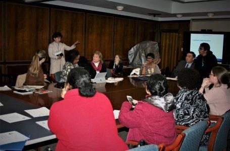 대 필라델피아 인구조사위원회 몽고메리카운티 인구조사 위원회 미팅 참석 MontPACounts Historically Undercounted Population Meeting