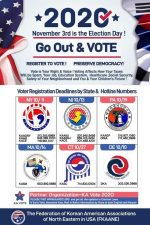 voter registration english poster